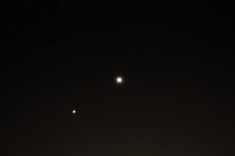 Jupiter and Venus